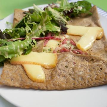 galette bretonne à la raclette